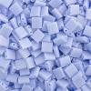 Miyuki Tila Bead 5X5mm 2 Hole Lapis Blue Opaque Aurora Borealis Matte
